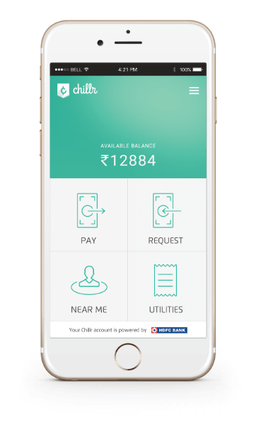 Chillr Fund Transfer Android App