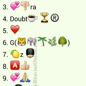 Whatsapp Puzzles Guess Indian Villain Names From Emoticons and Smileys