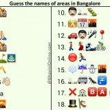 Whatsapp Puzzles: Guess the Areas in Bangalore From Emoticons and Smileys
