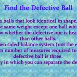 Find the Defective Ball