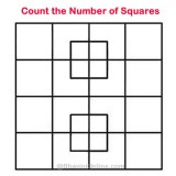 Whatsapp Riddle: Count the Number of Squares