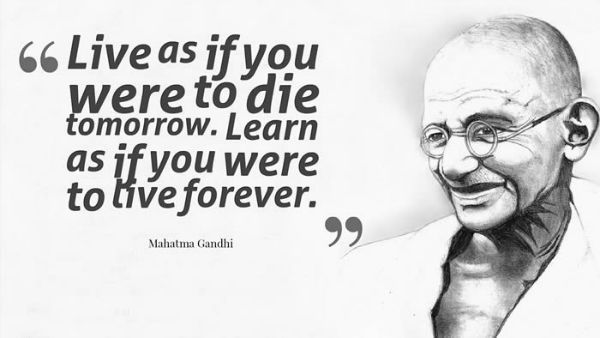 Quotes By Gandhi About Love : Most inspiring quotes from mahatma gandhi