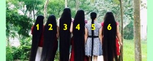 Who has longest hair