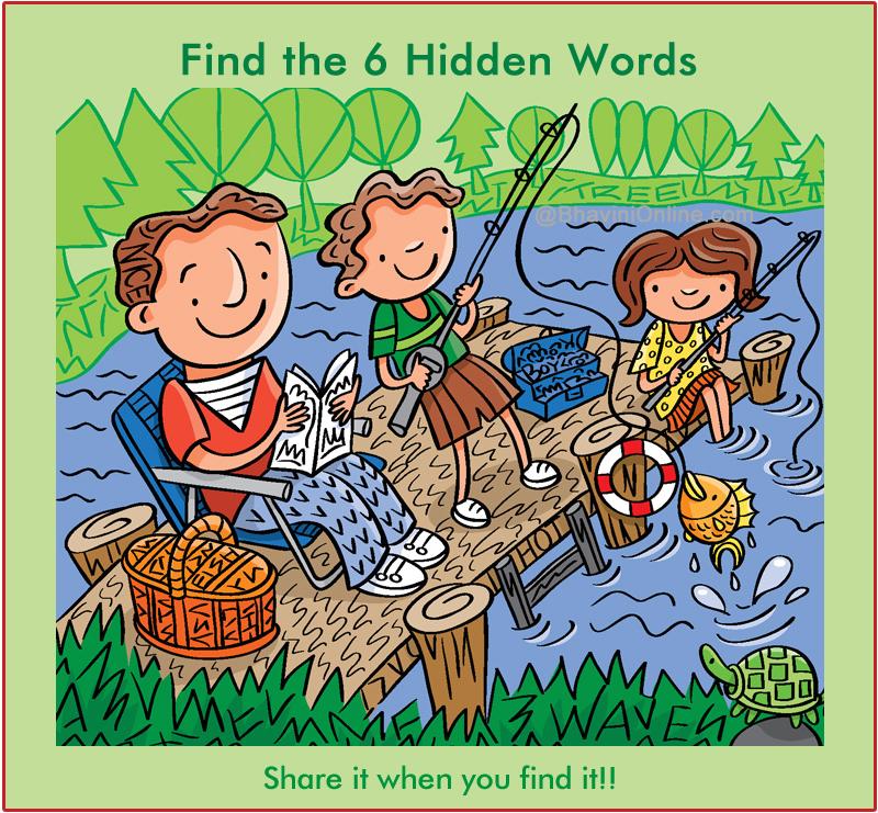 WhatsApp Riddle: Find 6 Words Hidden in the Picture 9 - BhaviniOnline ...