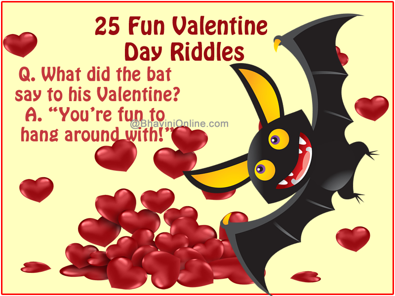 fun valentine day riddles and puzzles | bhavinionline, Ideas