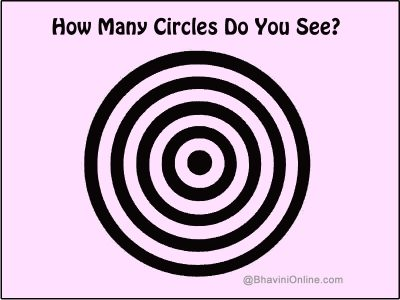 how many circles picture riddle